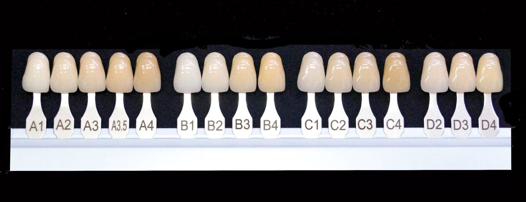 Shades Of Tooth Color