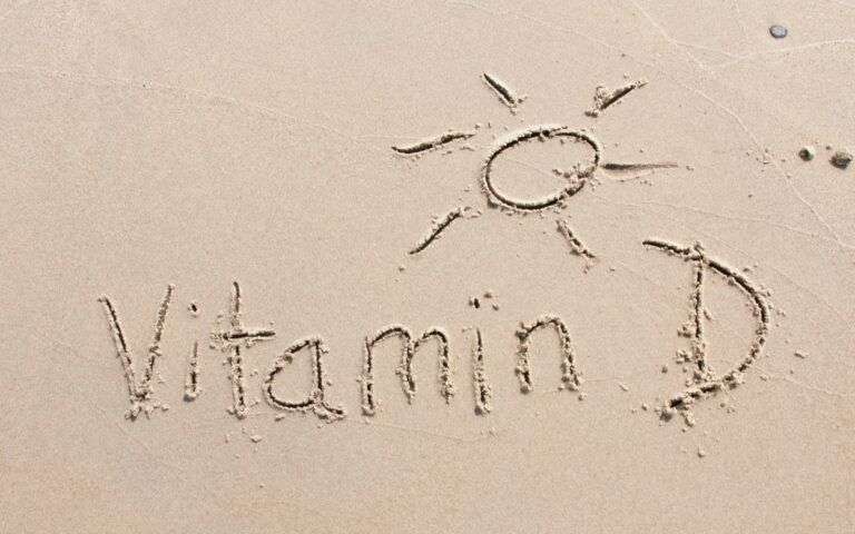Vitamin D in the sand
